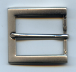 30mm Matt Nickel Belt Buckle. Code XA4